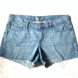 """Old Navy Blue Off Shorts 9"""" Rise"""
